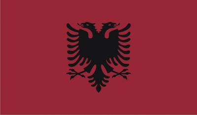 Gambar Bendera Negara Albania