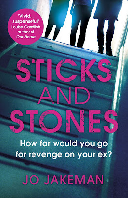 Sticks and Stones by Jo Jakeman book cover