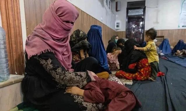 Mulheres e meninas afegãs teriam se casado à força para conseguir fugir do país