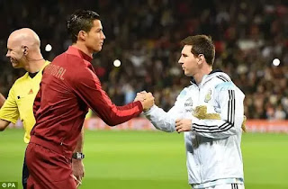 Ronaldo and messi not among top three in  Balon d'Or