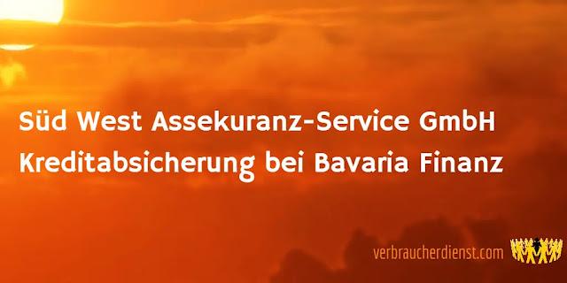 Titel. Süd West Assekuranz-Service GmbH – Kreditabsicherung bei Bavaria Finanz