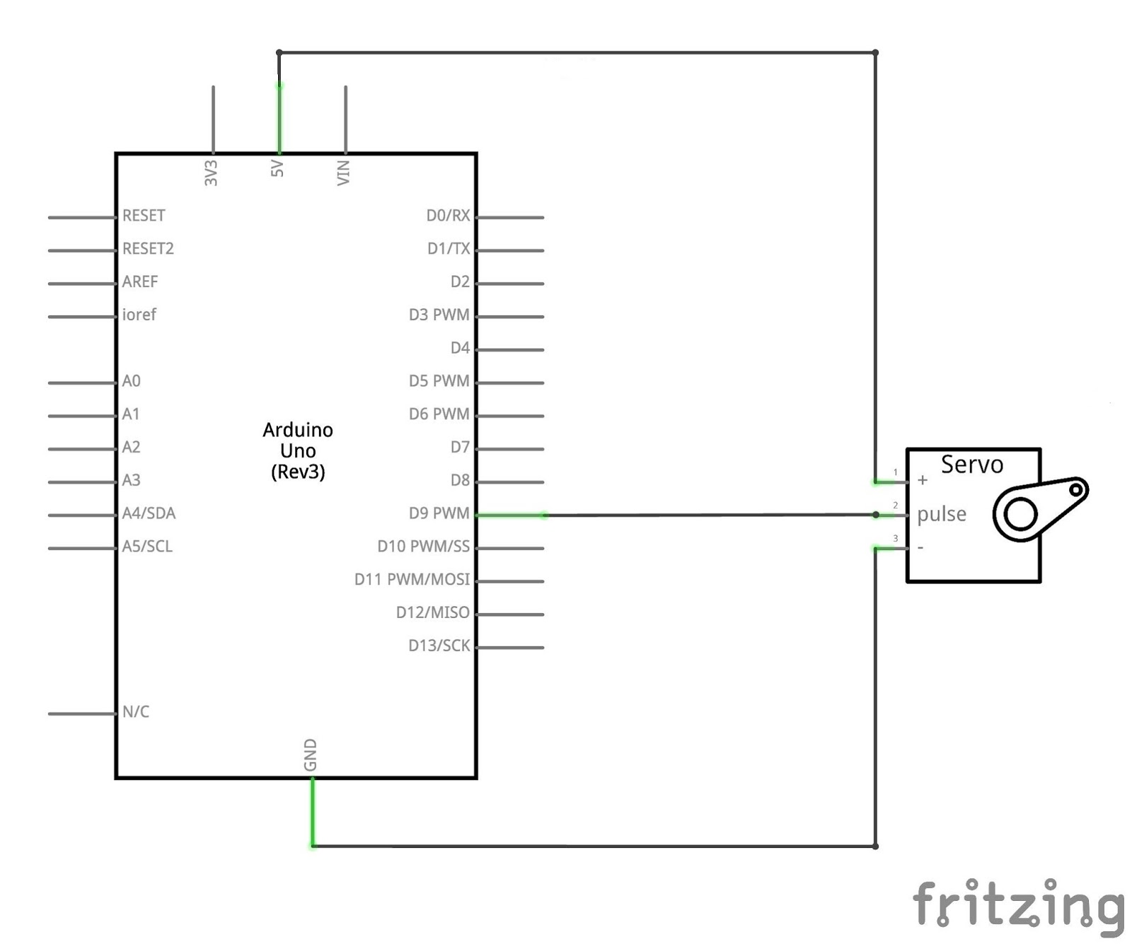 Servo Motor Wiring Diagram Bass Tracker Interfacing With Arduino Mechatrofice