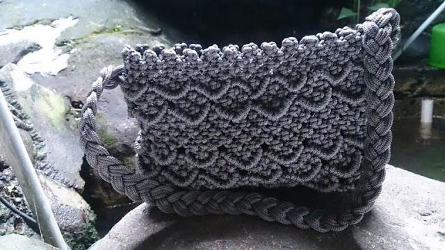 Cara Membuat Tas dari Tali Kur Beserta Gambarnya