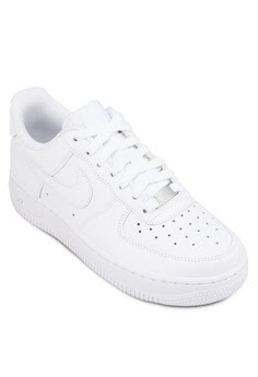 Nike womens air force 1-07 in white, S$139 from Zalora