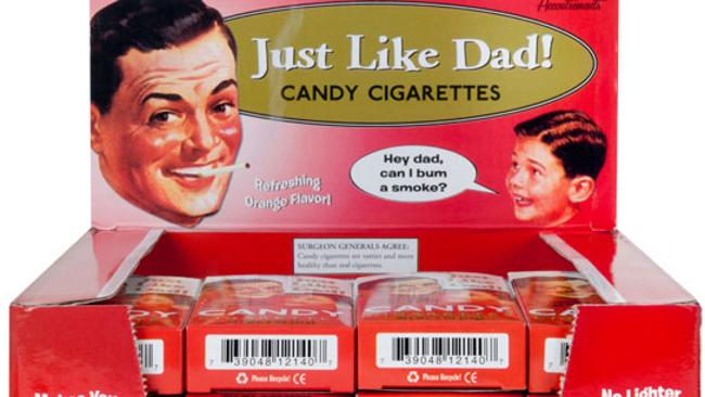 what are candy cigarettes made of