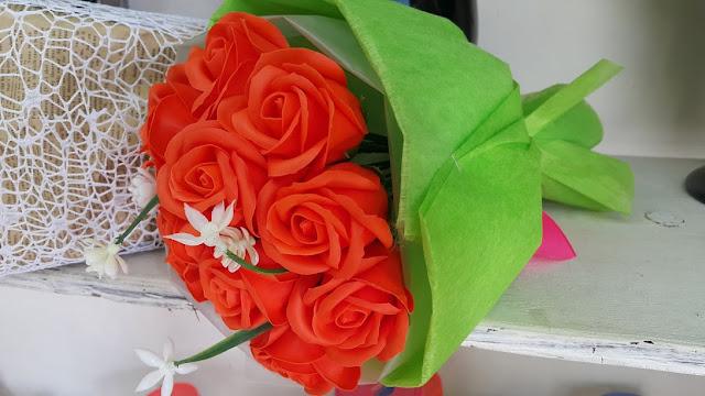 Hoa hong sap thom vinh cuu o Thanh Oai