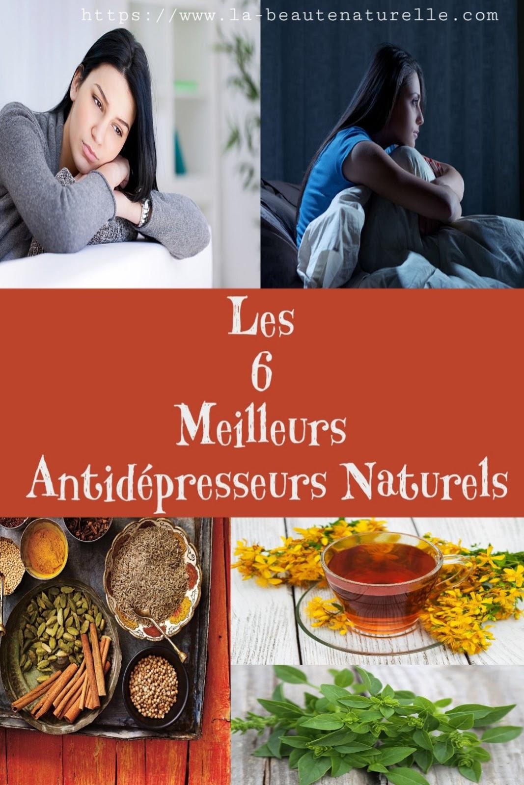 Les 6 Meilleurs Antidépresseurs Naturels