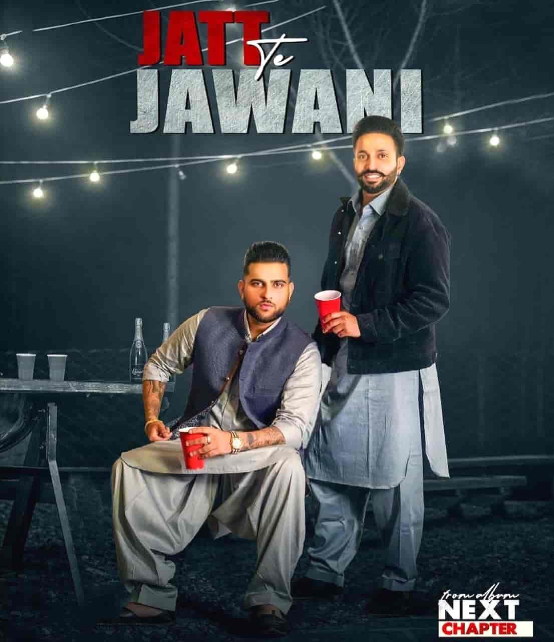 Jatt Te Jawani Punjabi Song Image Features Dilpreet Dhillon