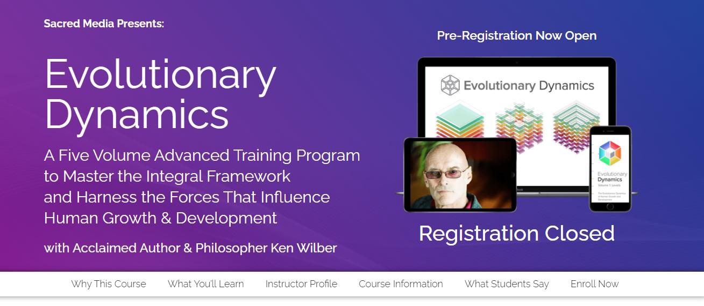 Ken Wilber - Evolutionary Dynamics [Worth 6000$+ ] Free Download - Google Drive Links