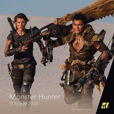 Filem Keluar Panggung Wayang 2020 | Monster Hunter (2020)