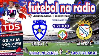AMORA vs ALVERCA (Campeonato de Portugal)