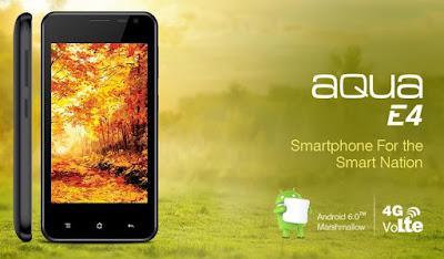Hp Android 4G LTE Harga 600 Ribuan Intex Aqua E4