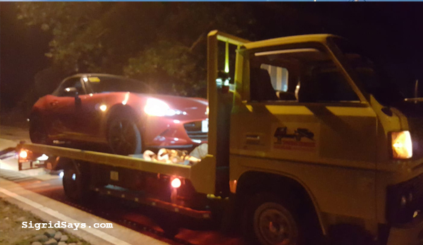Javin's Towing Service Bacolod - Bacolod towing service - Bacolod City - Bacolod blogger - super cars - miata- towing super cars - car break down - emergency towing service