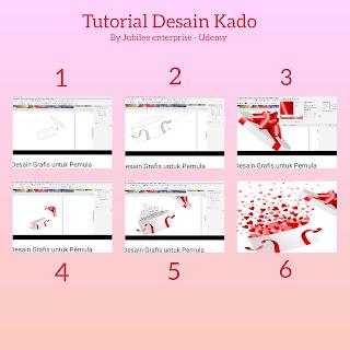 belajar tutorial desain kado corel draw di udemy