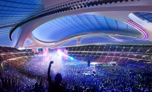 Stadion nasional tokyo jepang