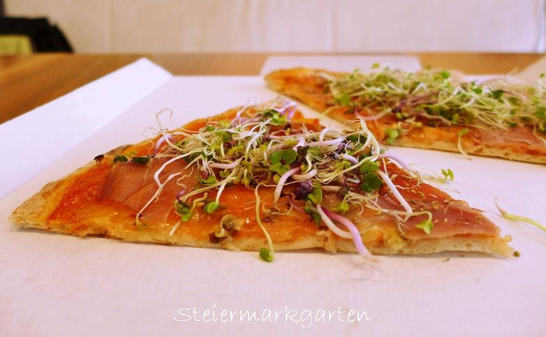 Sprossenpizza-Steiermarkgarten