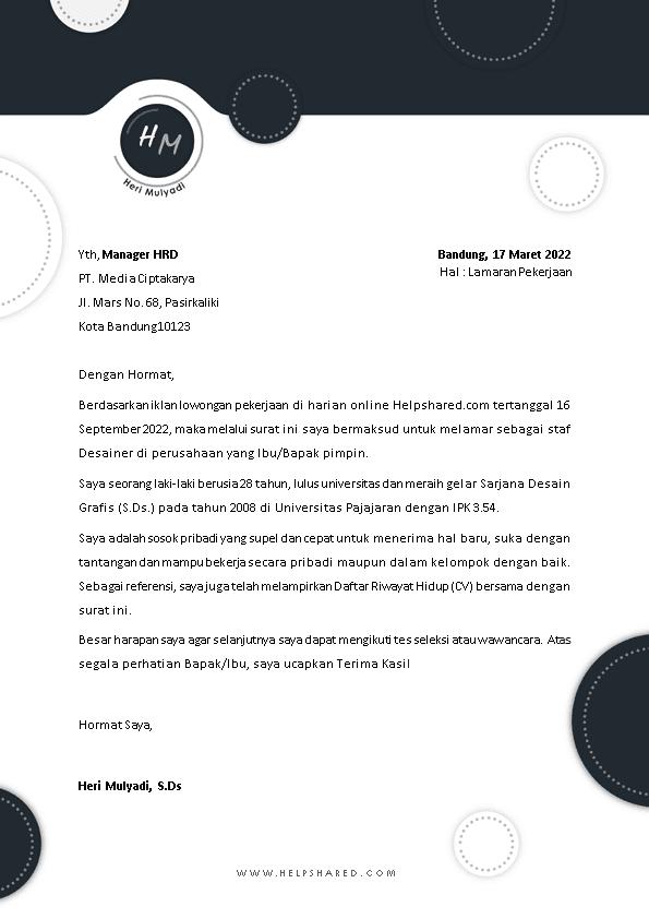 Kop Surat Lamaran Kerja 19