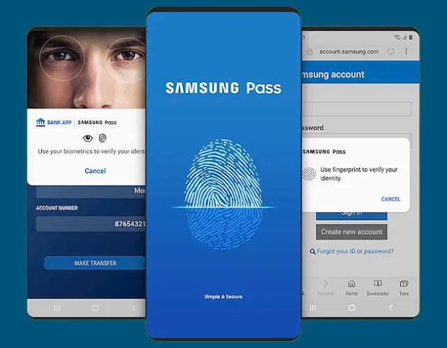 تطبيق Samsung Pass