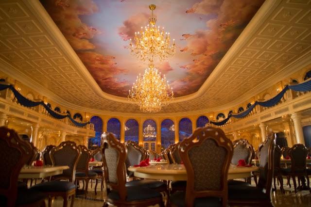 Restaurante da Bela e a Fera