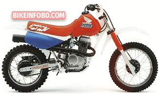 1996 Honda XR80