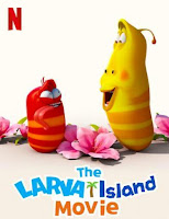 Poster de Isla Larva: La película