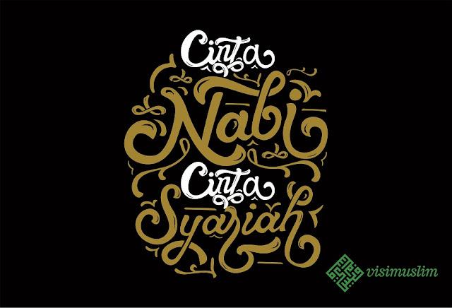 cinta nabi cinta syariah