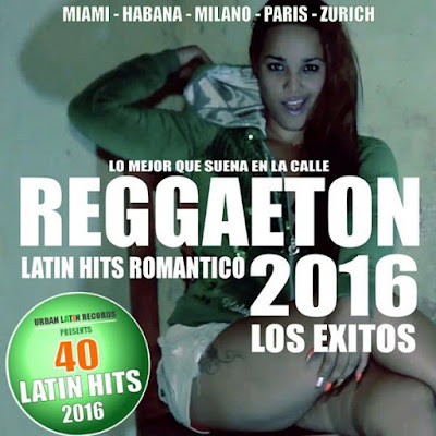 VA – Reggaeton 40 Latin Hits Romantico (2016) MP3