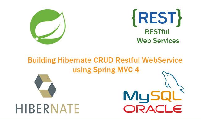 Building Hibernate CRUD Restful WebService using Spring MVC