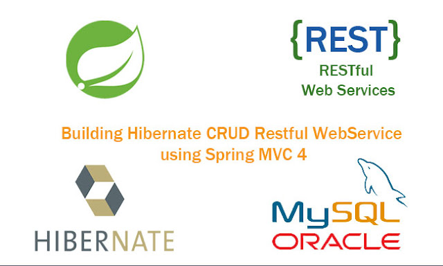 Building Hibernate CRUD Restful WebService using Spring MVC 4 and Mysql Database Tutorial
