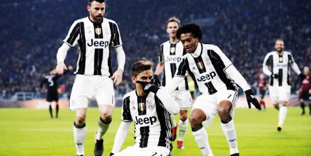 Superior, Juventus eliminou o Milan da Coppa Italia