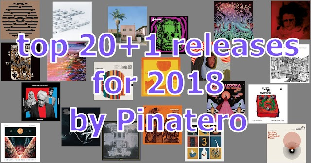 20+1 release picks for 2018 by Pinatero