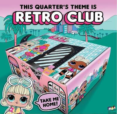 Ретро-клуб коробка с сюрпризами Лол