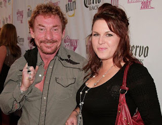 Amy Railsback with her husband Danny Bonaduce