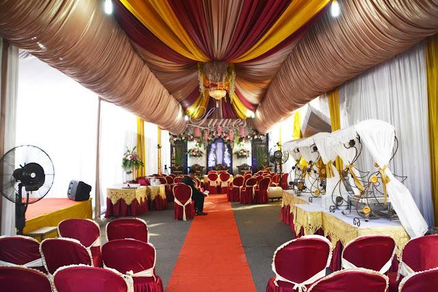 Dekorasi Tenda pernikahan terbaru