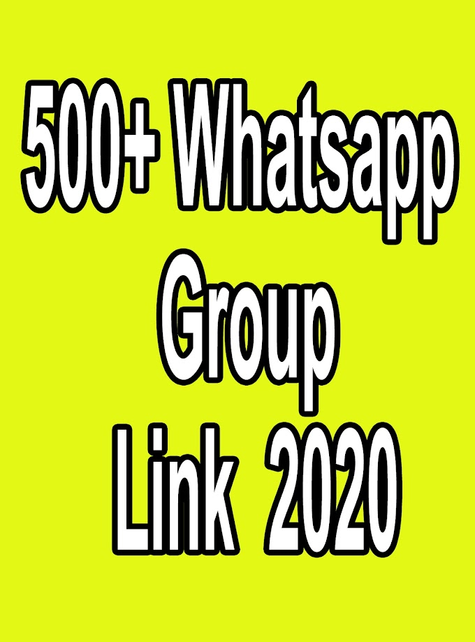 500+ Whatsapp Group Link  2020