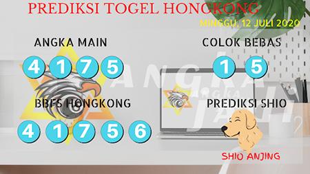 Prediksi Togel Angka Jadi Hongkong HK Minggu 12 Juli 2020