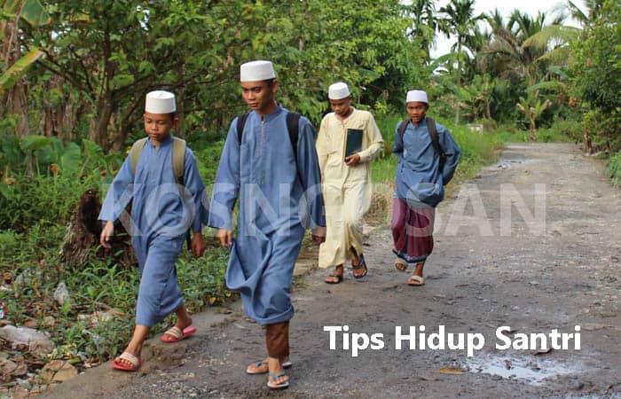 tips hidup pesantren