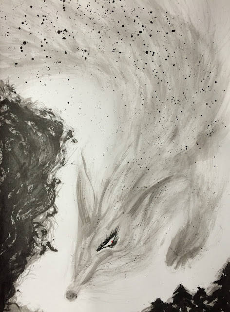 星降らす狐 / Star rain fox