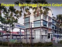 Admin Colection butuh cepat BCA Finance cabang Bukittinggi D3 Semua Jurusan