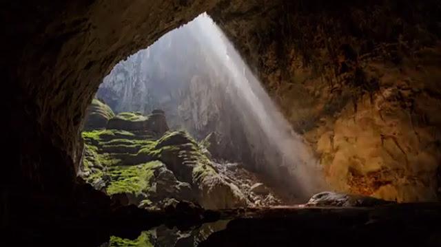 La belleza natural del lugar es abrumadora
