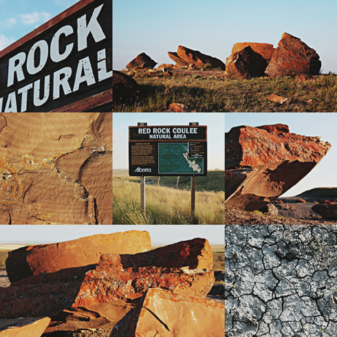 Red Rock Coulee 7 Wonders Alberta