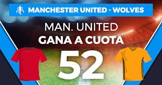 Paston megacuota manchester united vs wolves 14 enero 2020