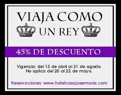 http://www.hotelcasajosemaria.com/promos