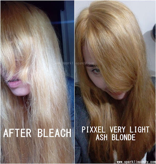 Galerry coloring my hair blonde at home