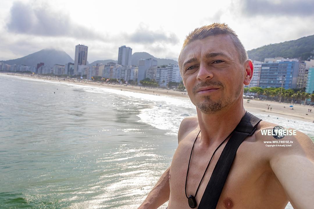 Copacabana Rio de Janeiro WELTREISE 2020