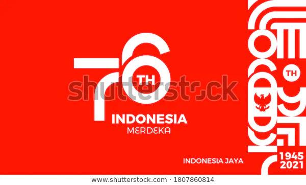 logo hut ri ke 7 tahun 2021