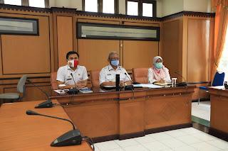 Wakil Walikota Tarakan Mengikuti Webinar dengan Tema Perencanaan Pembangunan Daerah Pasca Covid-19 - Tarakan Info