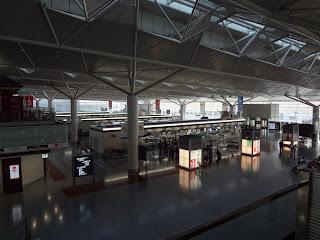 中部国際空港(セントレアエアポート)の内部