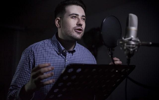 how do you record a good voice over