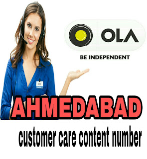 ola customer care number Ahmedabad